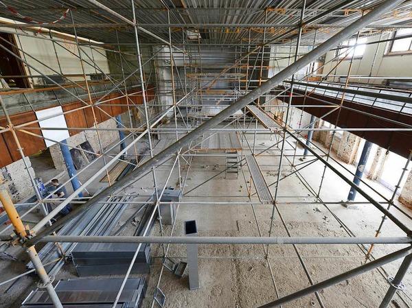 Der Paulussaal wird komplett erneuert.