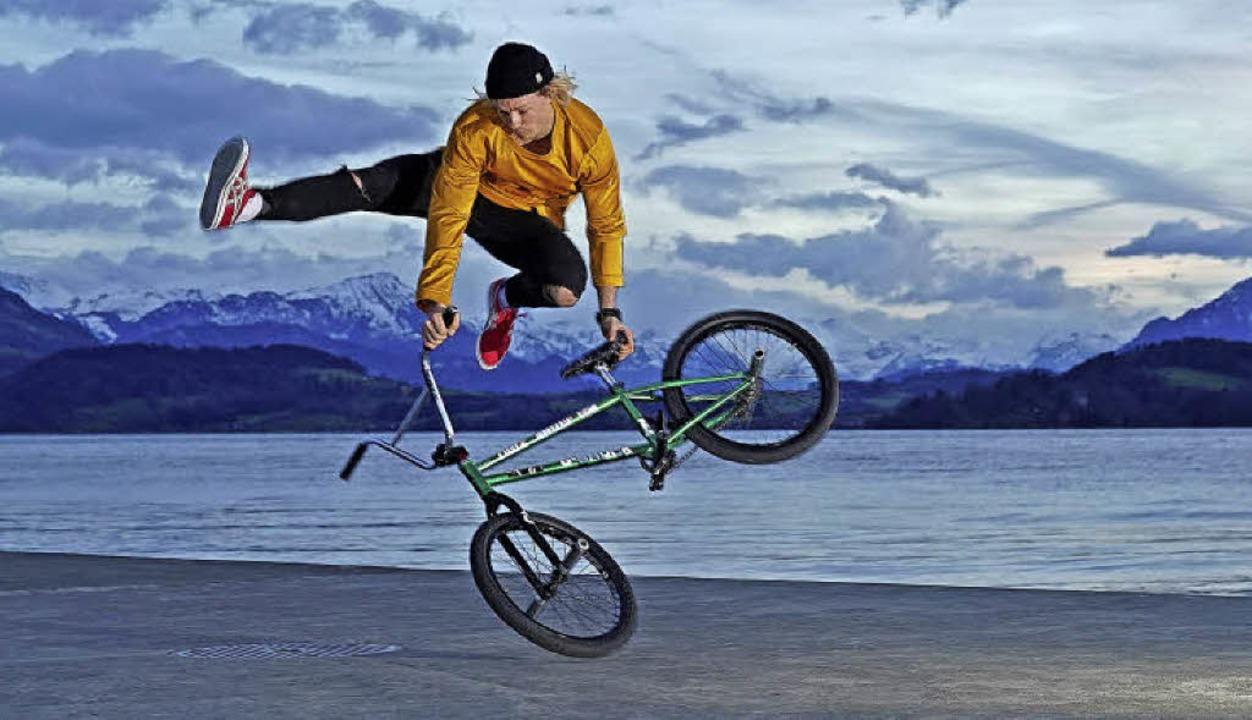 Chris Böhms Tanz mit dem Rad    | Foto: Ben Bott
