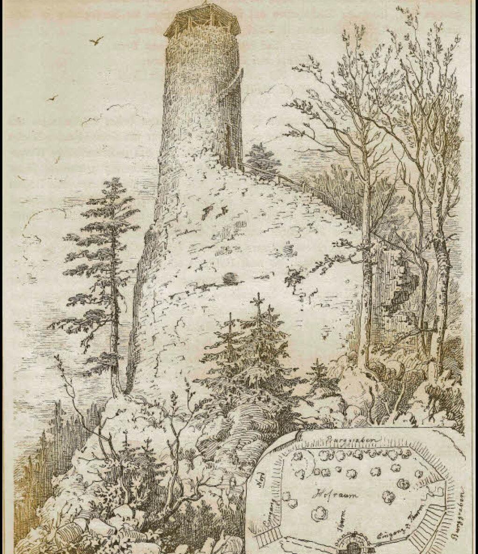 Burg Im Mittelalter Arbeitsblatt : Basler ritter lebten auf burg bärenfels wehr badische