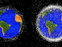 Weltraumschrott wird zu einer immer größeren Gefahr