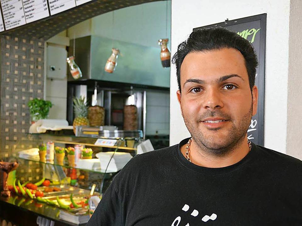 Ahmad Dirafzoon von Mr. Döner  | Foto: Anika Maldacker