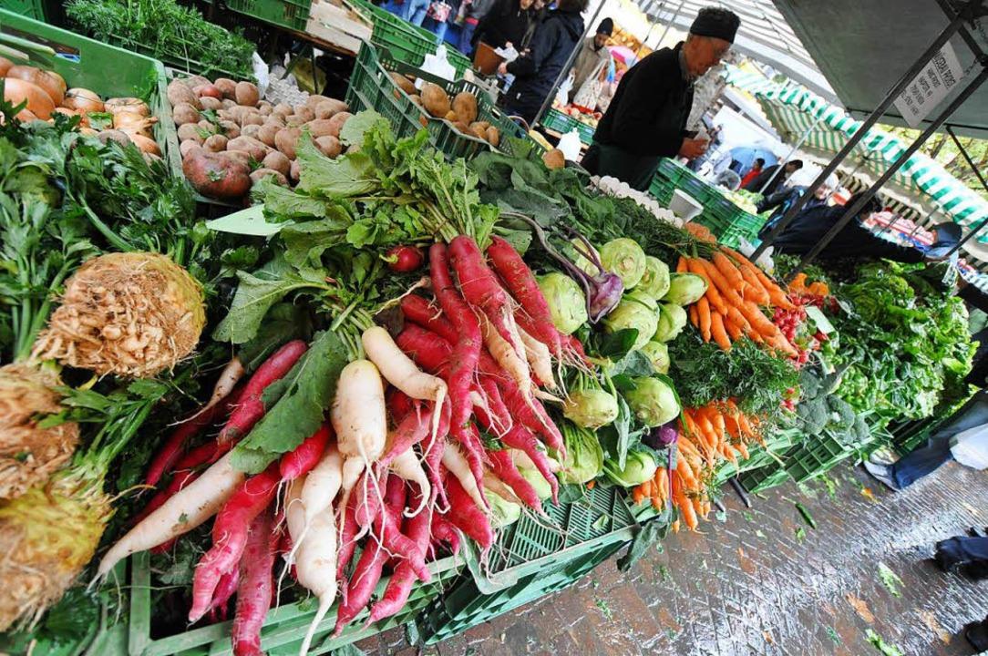 Lebensmittel   aus regionaler Erzeugun...gung propagiert den bewussten Konsum.   | Foto: Barbara Ruda
