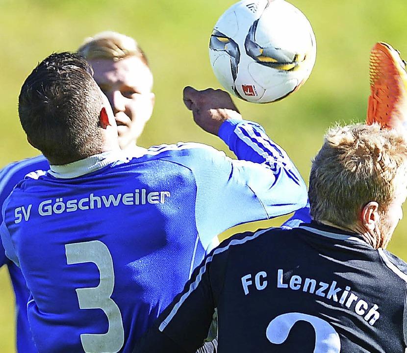 Gespannt aufs Derby: Am Sonntag erwartet der SV Göschweiler den FC Lenzkirch.  | Foto: seeger