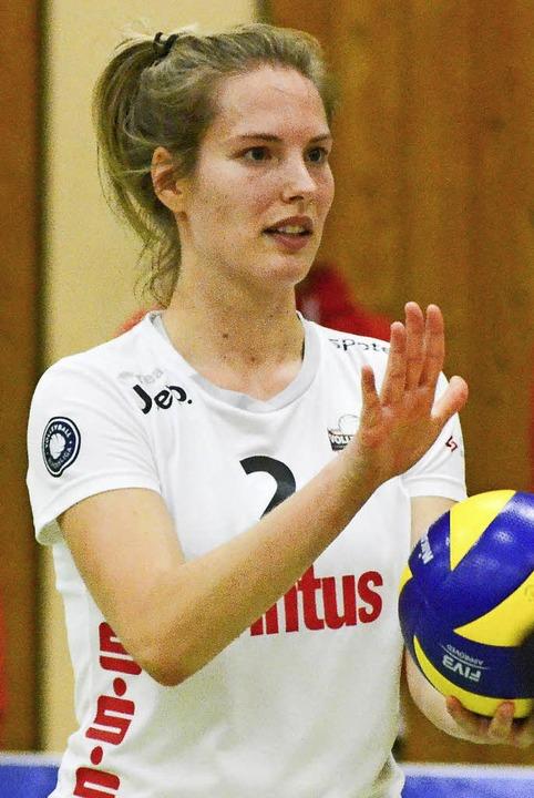 Katrin Kreuzer und <ppp></ppp>  | Foto: Sebastian Köhli