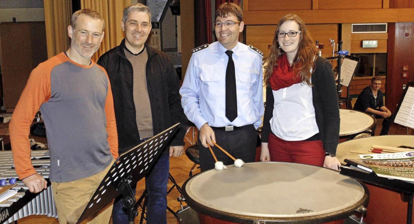 Auf das gemeinsame Konzert des Verband...erbandsjugendorchesters,  Julia Huber.  | Foto: Michael Gottstein