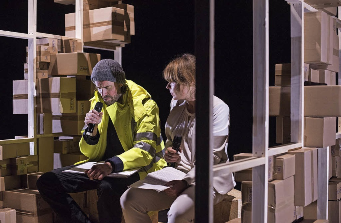 "Lorenz Nufer und Pascale Pfeuti in ""Träges Herz""   | Foto: christian knörr"
