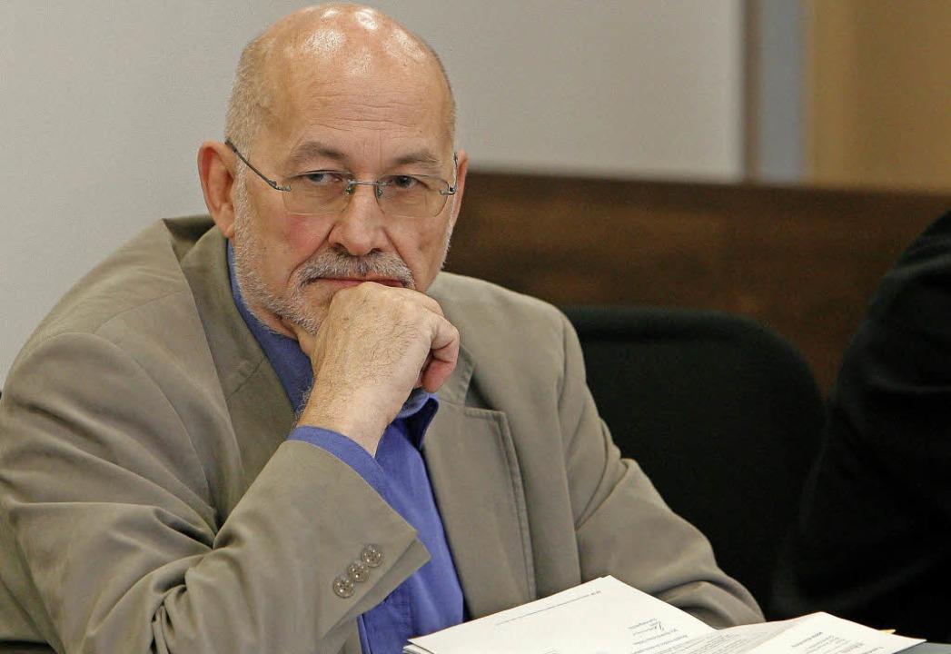Horst Mahler bei seinem Prozess im Jahr 2008   | Foto: dpa