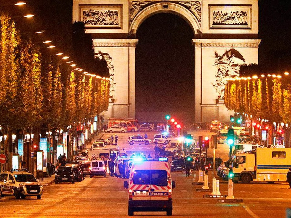 Schüsse in Paris  | Foto: dpa