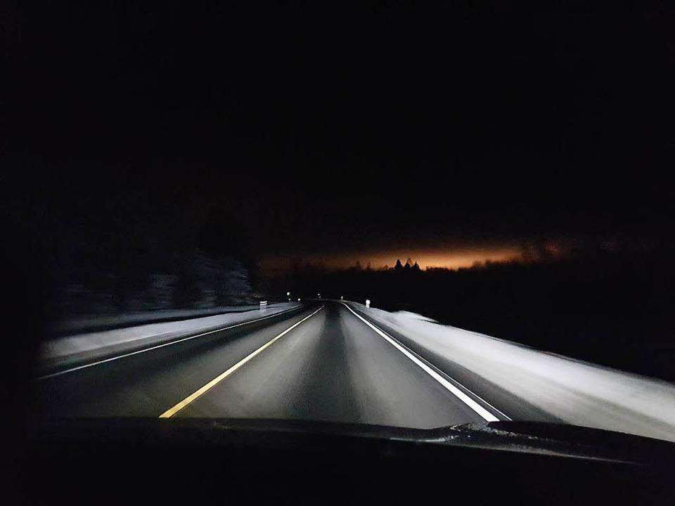Das beste am Norden ist das Nordlicht.  | Foto: Claudia Wörner