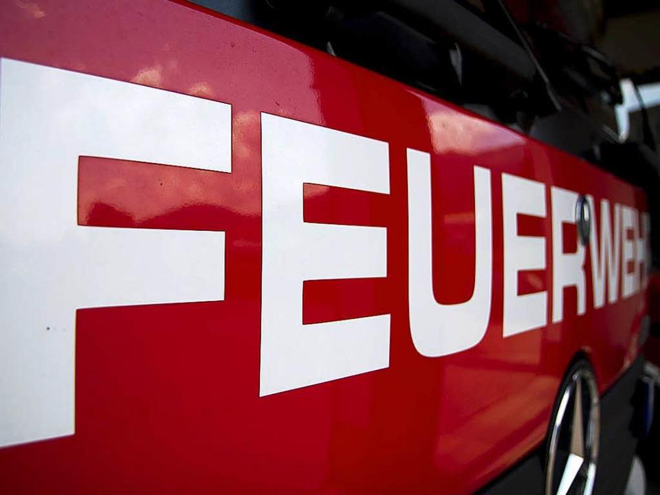 Die Feuerwehr konnte den Brand schnell löschen.  | Foto: Daniel Fleig