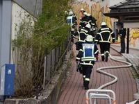 Zimmerbrand in Wohnheim für behinderte Menschen
