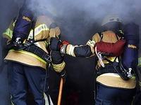 Fotos: Wie Feuerwehren bei der Rothaus-Brauerei üben