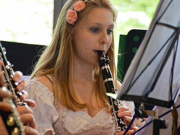 Musikverein Karsau bringt die Flötentöne bei