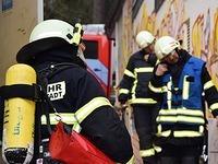 Zimmerbrand in Caritas Wohnheim für Behinderte