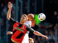 SC Freiburg gewinnt gegen Bayer 04 Leverkusen mit 2:1