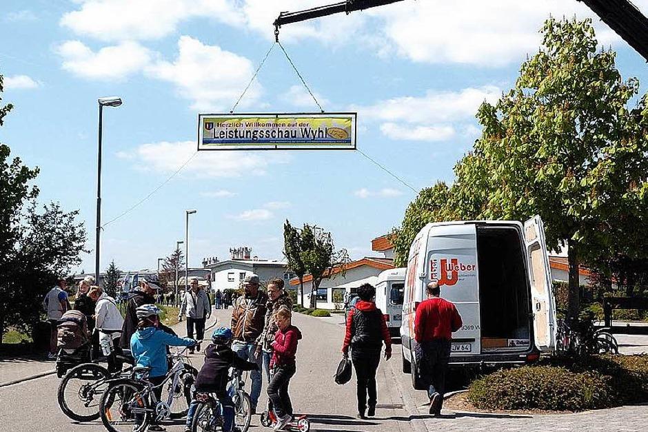 Die 5.Leistungsschau in Wyhl war wieder ein großer Erfolg. (Foto: Jürgen Schweizer)