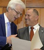 Bürgerverein St. Georgen verabschiedet Herbert Bucher