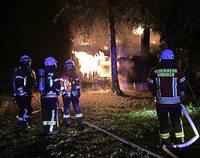 Umkircher Anglerheim abgebrannt
