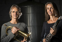 "Duo ""Moving Sounds"" in der Barockkirche St. Peter"