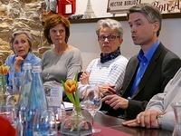Unterwegs im Wahlkampf mit dem Kandidaten Thomas Pantel