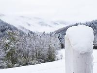 Starker Schneefall in Teilen Südbadens