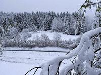 Fotos: Winter im April im Landkreis Lörrach