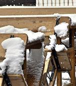 Der Winter auf Stippvisite