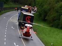 Mann stirbt bei Frontalkollision auf B 317 bei Schopfheim