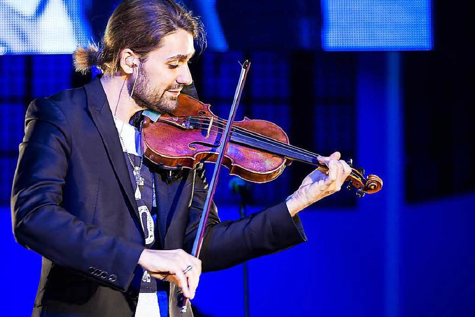 Fotos Das Konzert Von David Garrett In Freiburg Rock Pop
