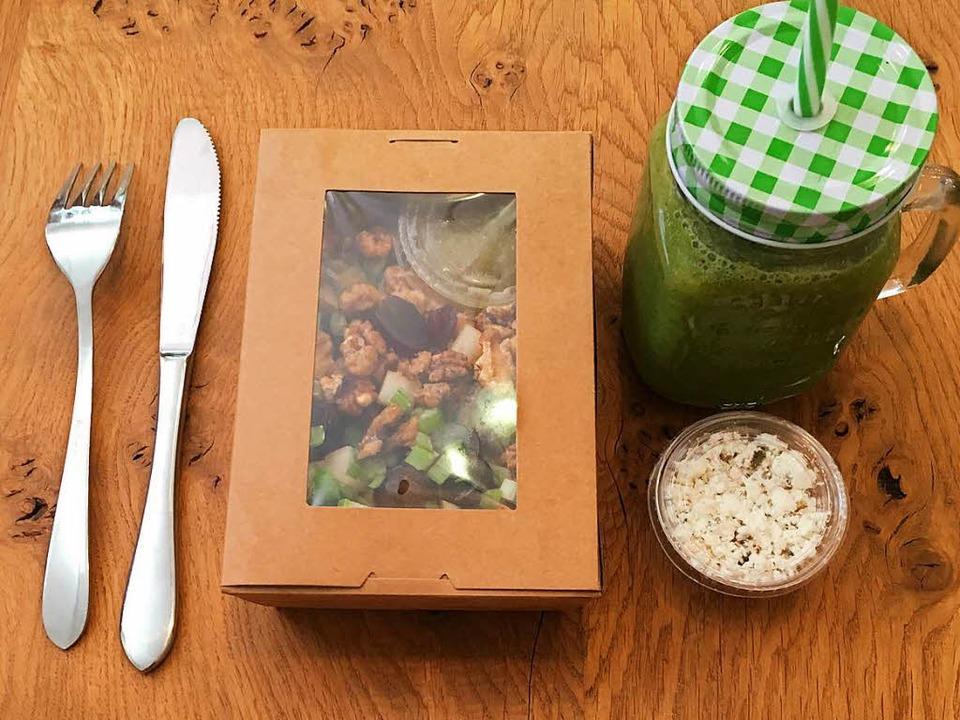 Exklusives vegetarisches und veganes F...in Freiburg – auch zum Mitnehmen  | Foto: Konstantin Görlich
