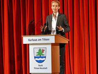 AfD-Spitzenkandidatin Alice Weidel spricht in Titisee-Neustadt