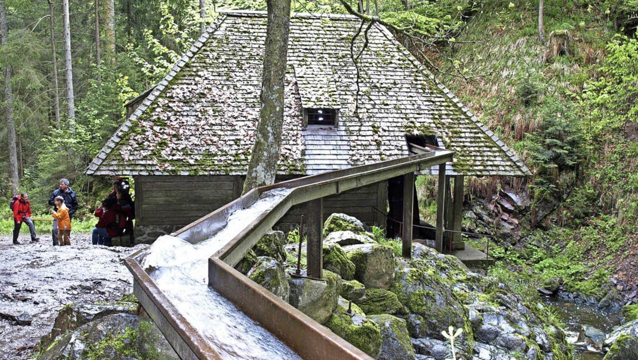 Das Schindeldach der Großjockenmühle p...er Verein Heimatpfad neu einzudecken.   | Foto: Marion Pfordt