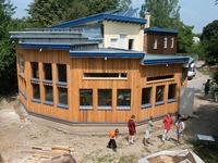 Werkspielhaus steht Neubau der Staudingerschule im Weg