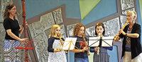 Fachbereich Blockflöte mit JMS Dreisamtal und Arden Recorder Orchester (ARO) aus England in Titisee-Neustadt