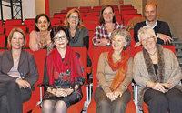 Stütze der Lörracher Stadtbibliothek