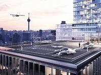 Fliegende Taxis aus Bayern für Fahrdienstvermittler Uber