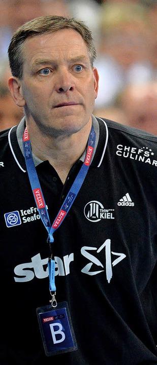 Coach Alfred Gislason   | Foto: dpa