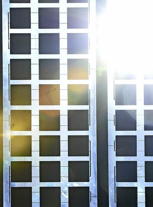 Mit der Sonne lässt sich Geld verdienen.    | Foto: Michael Bamberger