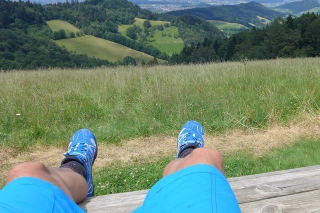 Feierabendrunde mit Genuss: Von Kirchzarten hoch zum Streckereck