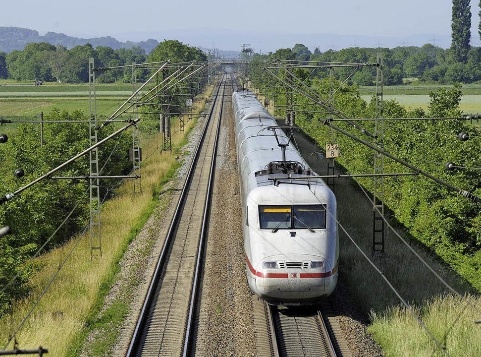 Der Ausbau der Rheintalbahn beschäftigt weiterhin die Bürger und die Politik.   | Foto: volker Münch