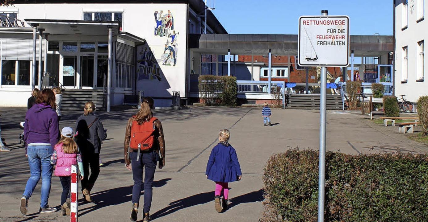 Hermann-Brommer-Schule in Merdingen  | Foto: Mario Schöneberg