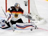 Deutsche Eishockey-Nationalmannschaft schlägt die USA mit 2:1