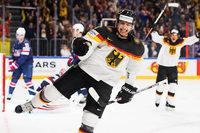Fotos: Deutschland schlägt USA bei Eishockey-WM in Köln