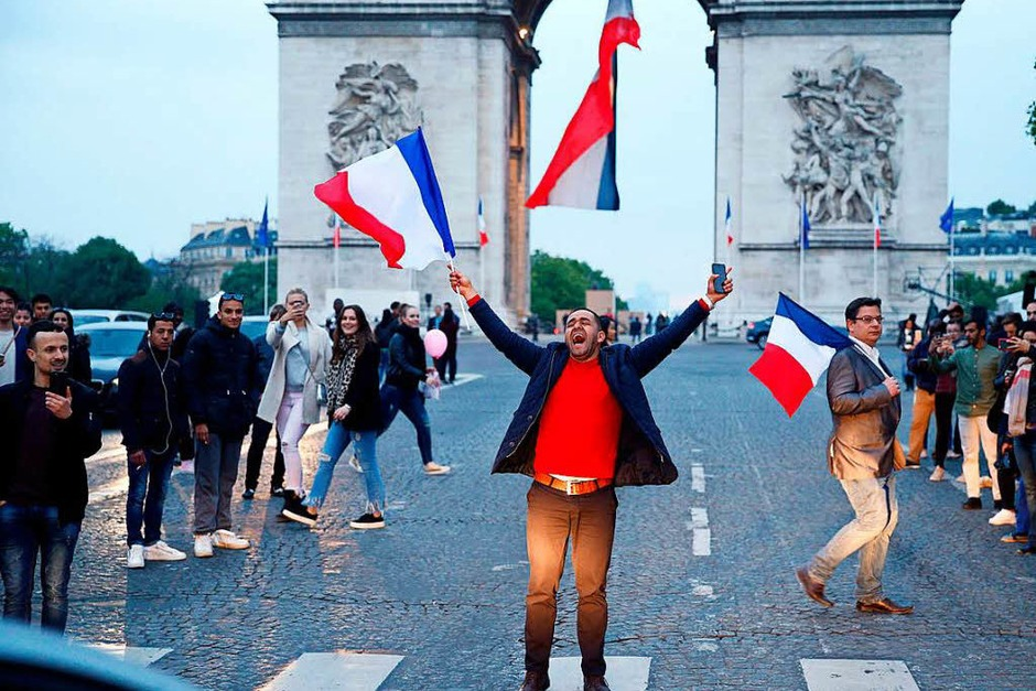 Frankreich hat gewählt: Macron ist ihr neuer Präsident. (Foto: AFP)