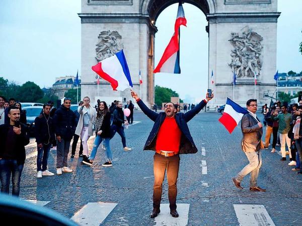 Frankreich hat gewählt: Macron ist ihr neuer Präsident.