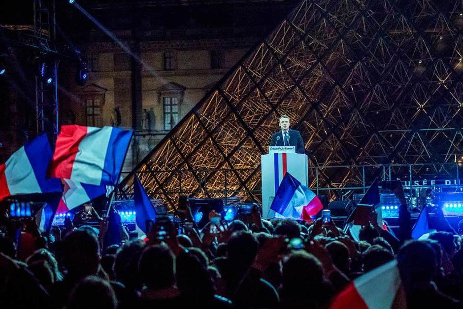 Frankreich hat gewählt: Macron ist ihr neuer Präsident. (Foto: dpa)