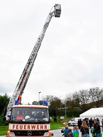 Mit einem Festwochenende wurde das neue Feuerwehrhaus in Pfaffenweiler gefeiert.