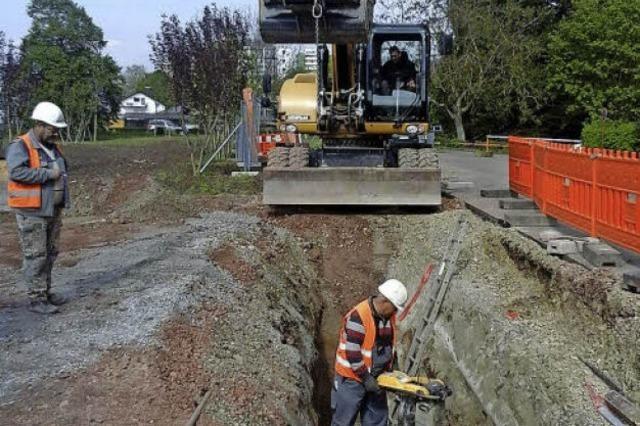 Der Mauerweg wird neu ausgebaut