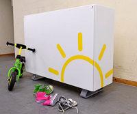 Speicherbatterien für Solarstrom sind in der Regel noch zu teuer
