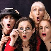 Tri Elles Vocales im Glashaus Rieselfeld